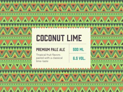 Coconut Lime Pale Ale