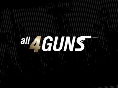 A logo for All 4 guns
