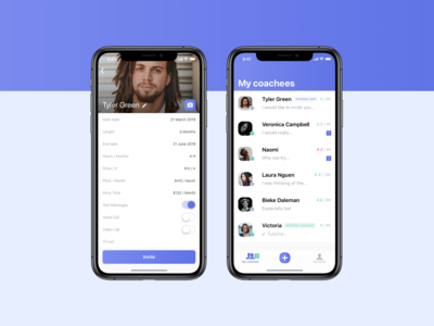 Lifestyle / business coaching app