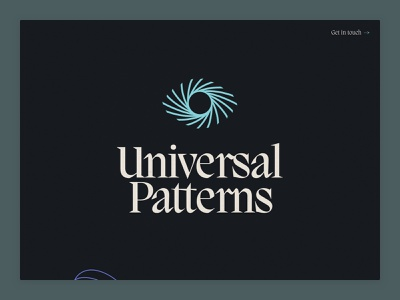 Universal Patterns mobile animation development web design design interaction ui