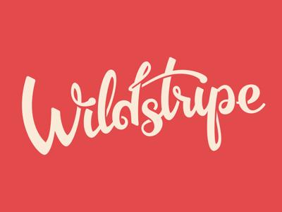 Wildstripe logo logo design lettering calligraphy identity logo logotype