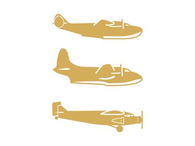 Airplanes journey sky adventure plane illustration icons airplane