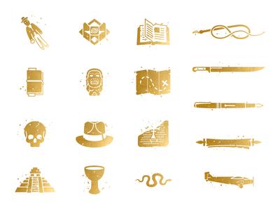 Adventure Icons - Final Set
