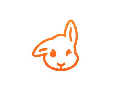 Thirty Logos Challenge #3 - Twitchy Rabbit thirty logos logo design twitchy rabbit thirtylogos logo bunny rabbit twitchy branding brand