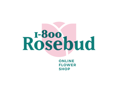 Thirty Logos Challenge #6 - 1-800-Rosebud 1-800-rosebud thirty logos logo design flower challenge rose rosebud thirtylogos logo branding brand