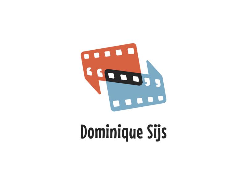 Dominique Sijs - Logo translations translation freelancer linguistics dubbing animation film animation film identity design identity icons logo design logo