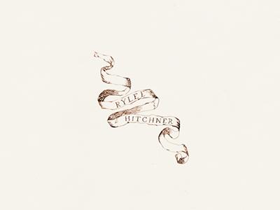 Rylee Hitchner Logo Concept handlettering branding identity photography