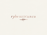 Rylee Hitchner Logo Concept B