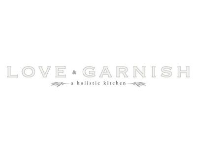 Love & Garnish branding identity food holistic organic