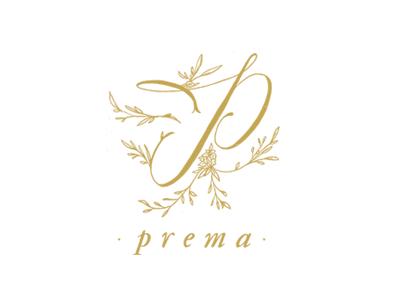 Prema Final Logo Design handlettering florist