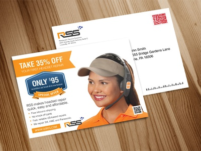 Professional Postcard, Eddm Postcard, Direct Mail