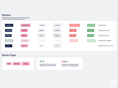 Design system elements - Buttons cta figmadesign ui ux button buttons designsystem