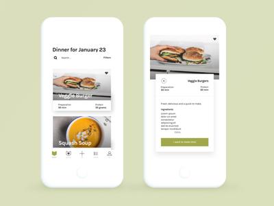 Vegan Meal Planning App