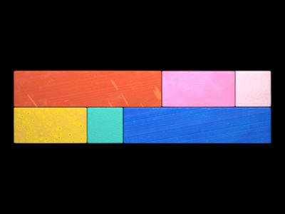 Colors + Textures graphic design 3d artist design subtle simple 3d art pattern texture color illustration 3d