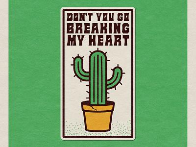 Breaking My Heart badge badge design vector nevada reno design reno design illustration