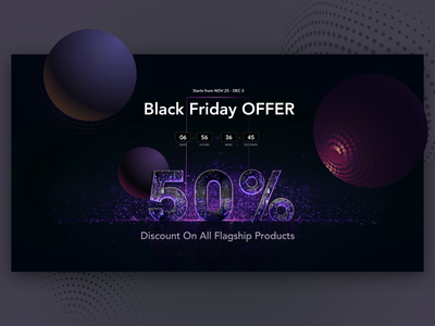 Discount Offer Page for Black Friday pricing plan landing page design website design offer discount blackfriday