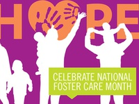 National foster care month banner