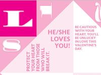 Valentine's fortune teller