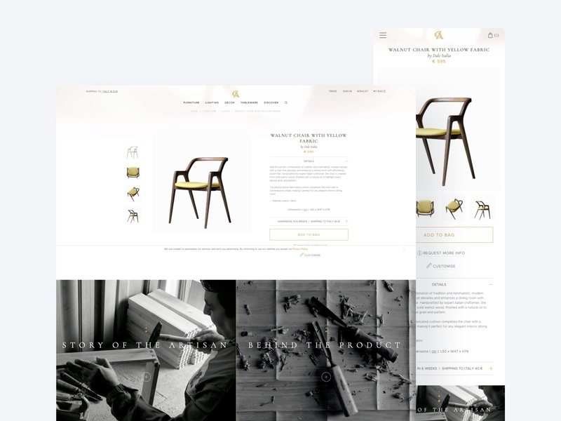 Unique Home Atmosphere wadoo brand identity uitrend uiux app website ux ui design web mobile interface user experience design user interface design
