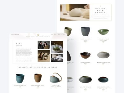 Seller's page in the marketplace categories item product user interface design user experience design online store ecommerce handmade natural platform marketplace web design visual identity responsive design user centered manufacture shop shopping bag modern decore