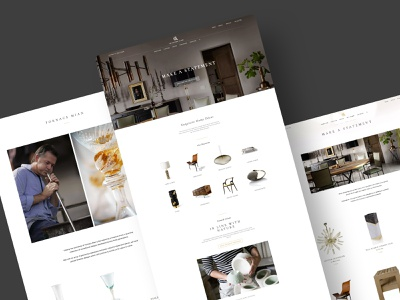 Make a statement award winning retro ecommerce shop brand identity responsive design artwork manufacture modern decore natural marketplace handmade online store jewelry shop website design branding interface mobile user experience design user interface design