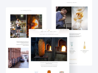 Product value history product page history discover marketplace ecommerce glass creative manufacture craft handmade glassblowing typography website interface brand identity web application mobile user experience design user interface design