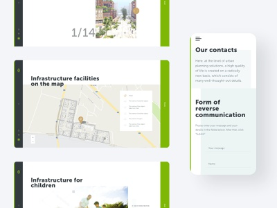 Infrastructure page and contact form map infrastructure contact form user interface design user experience design web ui brand identity branding industry building construction company apartment complex smart town urban research website design logo design real estate 3d render