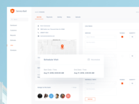 Service Bull - software dashboard