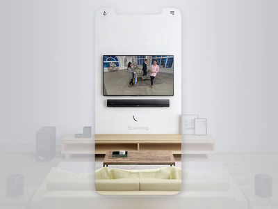 AR for E-commerce on TV gallery navigation home fashion smart wall ui buy shopping shop store human concept design marketing tv ecommerce vr ar