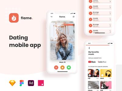Dating Mobile Application UI Kit