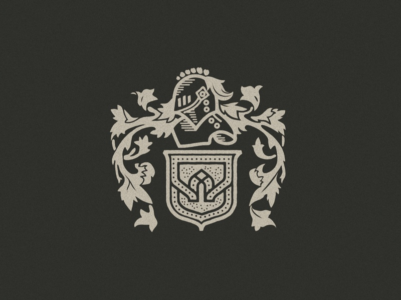 West Famaily Crest knight european illustration legacy family medieval coat of arms crest