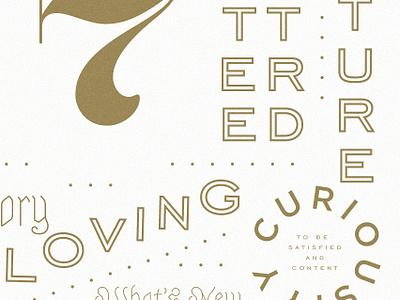 Type Poster Tease engravers sackers blackletter typedesign typography enneagram