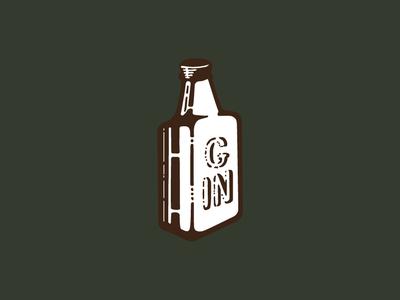 Ol' Timey Gin Pin