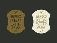 Brokenstraw Crest