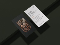 Metro Visual Comm Business Cards