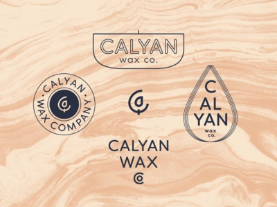 Calyan Wax Co Badges