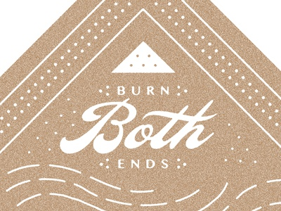 Bandana Crop script burn candle folk type lhf ballpark typography americana bandana flag handkerchief lao texture