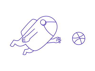 Spaceman vector ball spaceman illustration astronaut