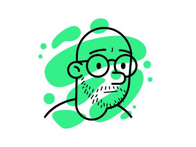 Avatar illustration vector avatar