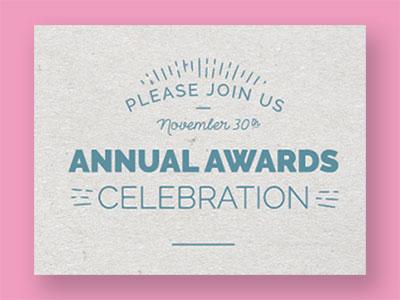 Non-profit Invite Closeup