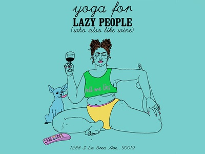 Yoga For Lazy People