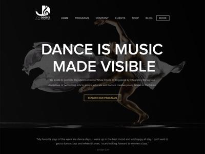 Glee Studios music dance website glee