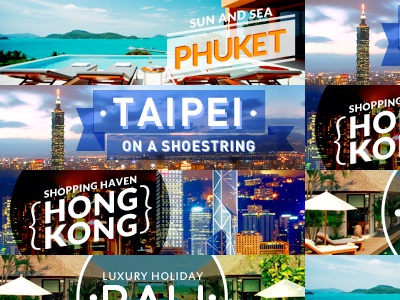 Travelmob Banners banners travelmob travel phuket taipei hong kong bali holiday hotel luxury shopping tourism beach sun sea tower skyscraper