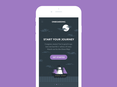 Ghost Ship mobile ui kit hoarrd ghost ship clean simple interface psd mobile kit