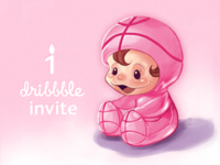 A Hobbit's First Dribbble Invite Giveaway