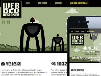 Webdevdesigner dribbble