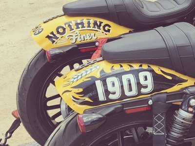 Shiner Beer Motorcycles