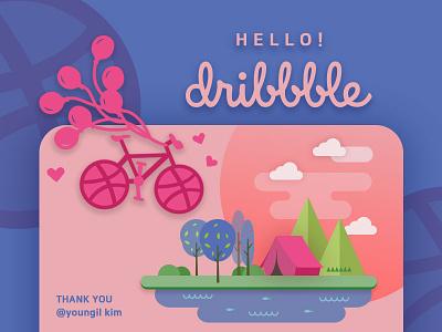 Hello dribbble!!! ux ui artwork illust illustration uiux debuts