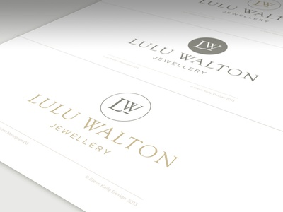Lulu Walton Brand Identity