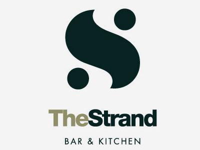 Stevekellydesign Strand 10 logo design branding bar restaurant